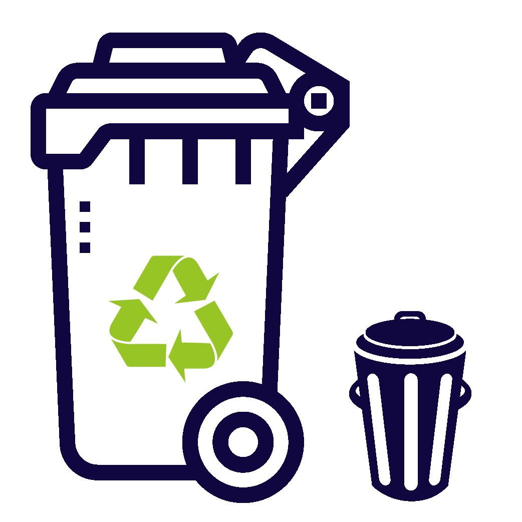 Урны и контейнера для мусора