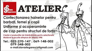"atelier ""slava stegarescu"""