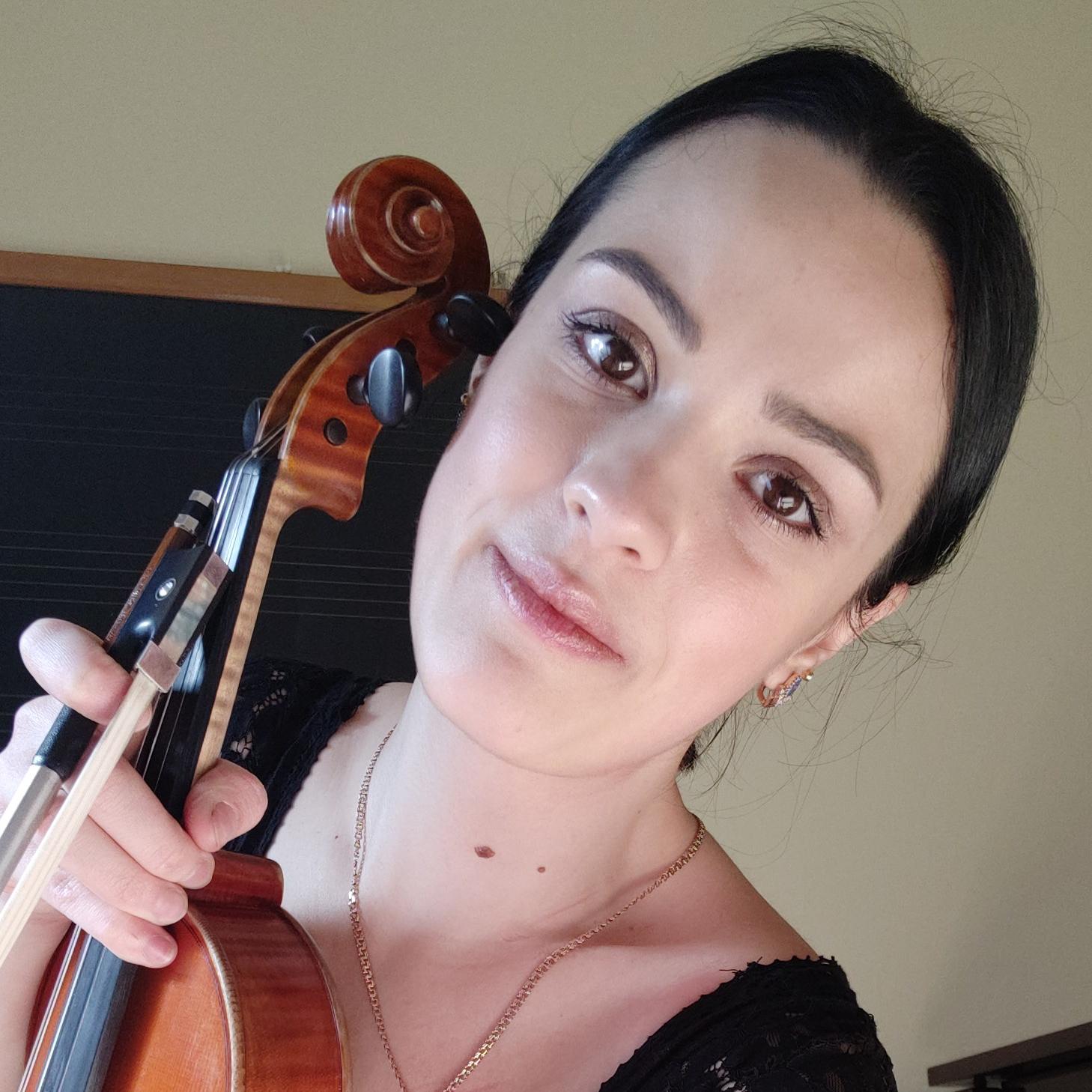 Profesoara de vioara