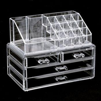 купить Органайзер для косметики с 4-мя ящиками Cosmetic Storage Box в Кишинёве