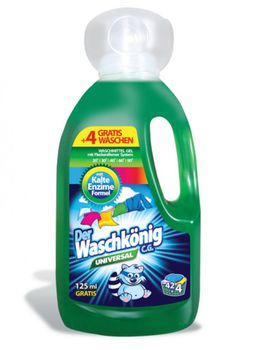 cumpără Detergent lichid pentru rufe Der Waschkonig Universal 1,625l în Chișinău