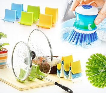 купить Щетка для мытья посуды с дозатором в Кишинёве