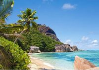 Castorland Tropical Beach, Seychelles C-300228