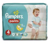 Pampers chiloței Maxi 4, 9-14 kg, 24 buc.