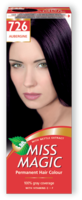 Vopsea p/u păr, SOLVEX Miss Magic, 90 ml., 726 - Vânătă