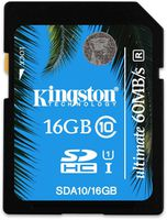 Kingston SDHC 16Gb Class 10 UHS-I (SDA10/16GB)