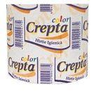 Hârtie  igienică Crepta Color maculat.