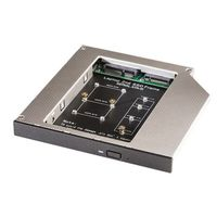 SATA 2nd HDD SSD Universal Caddy, ODD 12.7mm