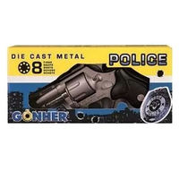 Револьвер полицейский (8 зарядный), код 44069