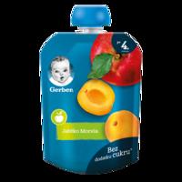 Пюре Gerber яблоко-абрикос, с 6 месяцев, 90г