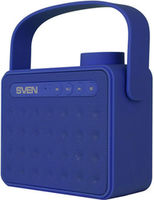 SVEN PS-72BL 6W, Blue Bluetooth Portable Speaker