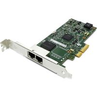 Intel I350-T2, PCI-e Server Adapter Dual Copper Port 1Gbps