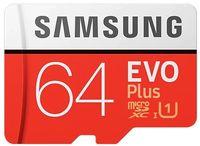 Сard de memorie Samsung MicroSDXC EVO Plus 64Gb (MB-MC64HA/RU)