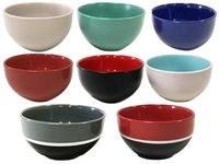 Salatiera 14cm diverse culori, din ceramica