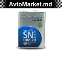 0W20 TOYOTA MOTOR OIL Масло моторное 4Л