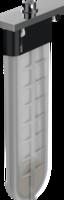sBox Secțiune exterioară cu rozetă dreptunghiulară, crom