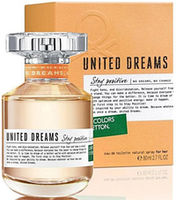 Benetton United Dreams Stay Positive EDT 80ml