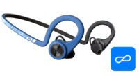 Casti Plantronics in-ear BackBeat FIT, Power Blue (206001-05)