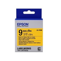 C53S653002 Tape Epson LK3YBP Pastel Blk/Yell 9/9