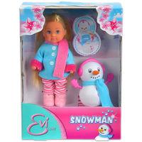 Simba кукла Еви с снеговиком 12 см
