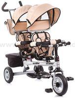 Chipolino Apollo TRKP0164BE Трицикл для близнецов бежевый