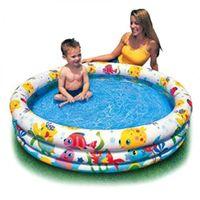 Детский надувной бассейн 132x28; 189L