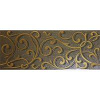 Argenta Ceramica Декор Forge Chocolate 20x50см