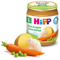 Piure amestec de legume Hipp (4+ luni), 125g
