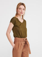 Блуза RESERVED Зеленый vu128