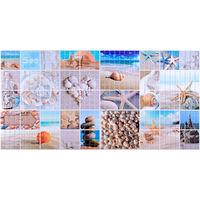 Влагостойкая панель мозаика морской берег