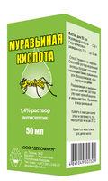 ACID FORMIC soluţie 1,4 %  antiseptic