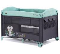Кроватка-манеж Chipolino Merida Mint