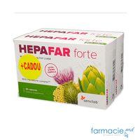 Hepafar Forte (sanatatea ficatului) caps. N30 + 1 Gratis