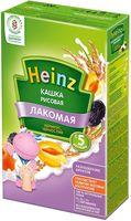 Heinz Лакомая каша рисовая молочная курага, слива, 5+мес. 200г