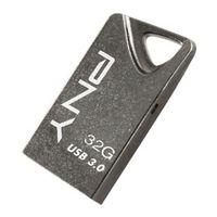 32GB PNY T3 Attache Metal