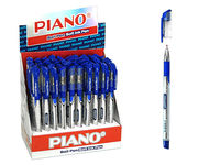 Ручка гелевая PT-195 soft ink,0.7mm, синяя