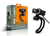 Canyon CNR-FWC120FH, 2.0Mpixel, 1920x1080, Microphone, SnapshotButton, Manual Focus Ring, Full HD video, Black