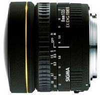 Obiectiv Sigma AF 8mm f/3.5 EX DG Circular Fisheye for Nikon