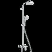 Sistema de  dus hansgrohe Crometta 160 1Jet Showerpipe cu mixer
