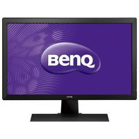 """24.0"""" BenQ """"RL2455HM"""", Black-Red (1920x1080, 1ms, 250cd, LED12M:1, D-Sub, DVI, 2xHDMI, 2x2W) Repack (24.0"""" TN LED, 1920x1080 Full-HD, 0.276mm, 5ms/1ms (GtG), 250 cd/m², DCR 12Mln:1 (1000:1), 72%NTSC, 16.7 Mln, 170°/160° @CR>10, 30~83 KHz(H)/ 50~76Hz(V), D-sub + DVI-D + HDMIx2, Stereo Audio-In, Headphone-Out, Built-in speakers 2Wx2, Built-in PSU, Fixed Stand (Tilt -5/+15°), VESA Mount 100x100, Black-Red)"""
