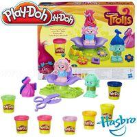 Play-Doh plastilină Style Salon Trolls