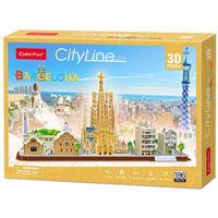 CubicFun пазл 3D City Line Barcelona
