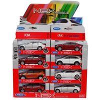 1:34 Коллекционные Металлические Машинки KYA / HYUNDAI (ИНЕРЦИЯ) 8 моделей