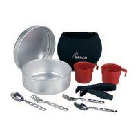 Набор посуды из алюминия ALUMINIUM COOKING SET 20 см + неопреновый чехол 808FN