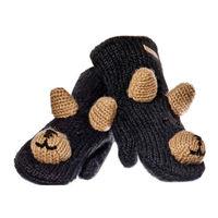 Варежки взрослые Knitwits Babu The Black Bear Mittens, A2379