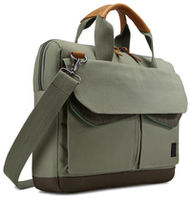 "14"" NB  bag - CaseLogic Lodo Attache ""LODA114PTG"" Petrolgreen-Drab"