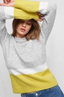 Трикотаж ORSAY Серый/Желтый 501966