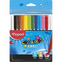 MAPED Фломастер MAPED Ocean, 10 цветов