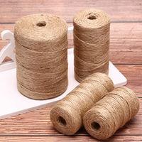 Шпагат джутовый плетенный L (350-400гр) / 55 шт в упаковке