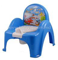 Tega Baby Горшок-кресло Машинки CS-007-120 голубой